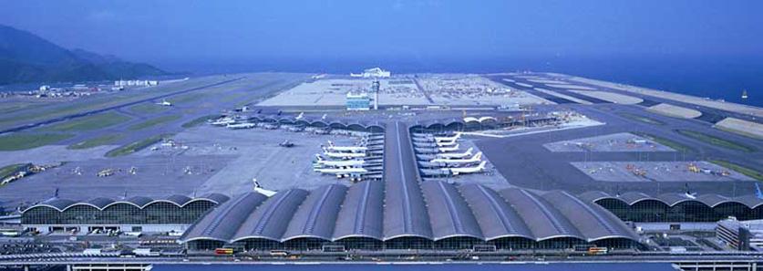 Chek Lap Kok Airport - Hong Kong