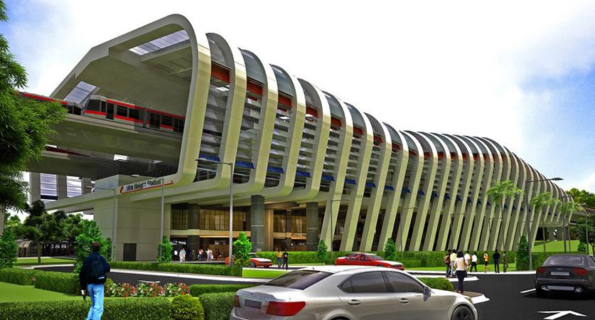 LRT Line - Kuala Lumpur, Malaysia