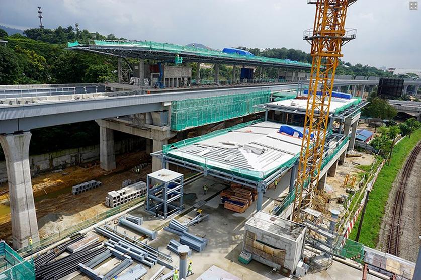 MRT Stations - Kuala Lumpur, Malaysia