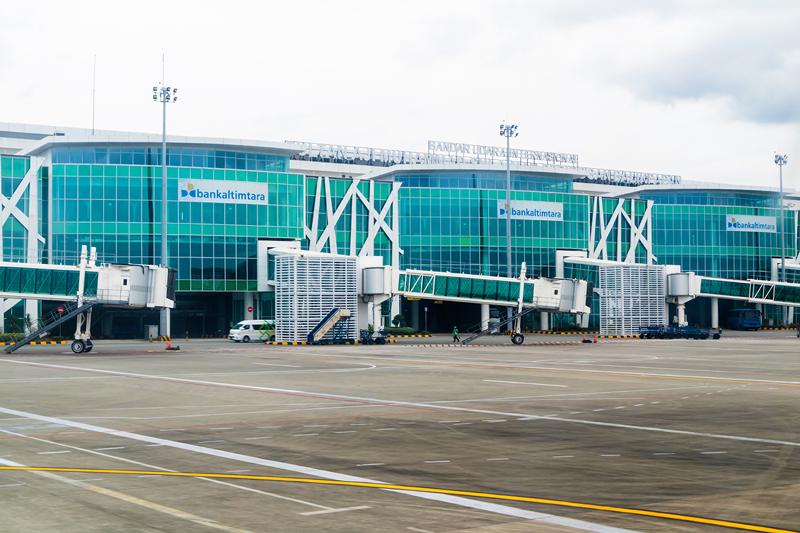Sepinggan Airport - Balikpapan, Indonesia